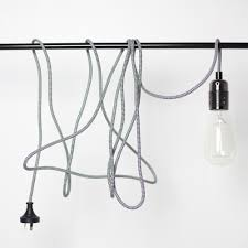 lighting wall lamp pendant light with cable plug in pendant light