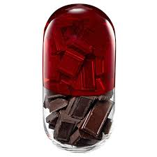 Image result for chocolate pill