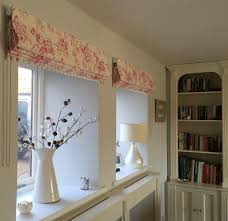 Roman Blinds In Kitchen Roman Blinds In Delphine From The Clarisse Cllection My Clarke
