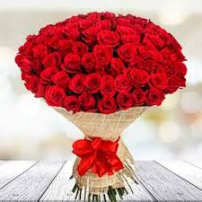 bouquet of 30 red roses rose day chennai