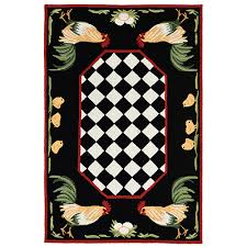 liora manne frontporch rooster rectangle area rug