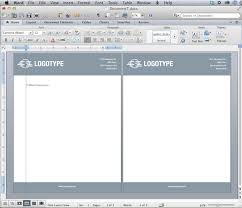 Header Template Word Convert Your Design Into A Microsoft Word Letterhead