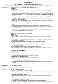 Manager Product Manager Resume Samples Velvet Jobs
