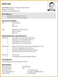 Write A Resume Interesting How To Write A Job Resume On The For Marieclaireindia