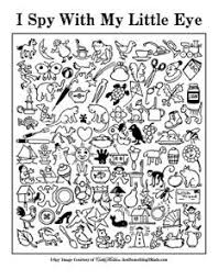 Small Picture i spy with words helps with letter and word recognition Kid