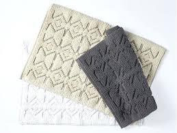 mosaic canyon bath rug cotton rugs reversible contour shower