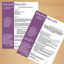 Customer Service Resume And Cover Letter Template