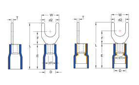 Spade Terminals Male And Female Spade Terminals Connectors