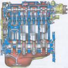 Из чего сделан двигатель ваз 2109