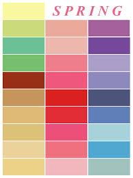Small Picture Spring color palette inspiration for outfits and home decor
