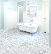 white hexagon floor tile gray bathroom ideas and pictures in plan furniture tiles black 2