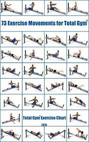 Full Gym Workout Chart Emetophobia Say What Total Gym Exercise Chart Home Gym