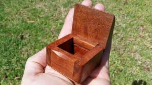 tiny box made from red gum australianworkcreations small wooden boxes