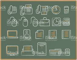 office chalkboard. Chalkboard Sketch Icon - Office Royalty-free Stock Vector Art 2