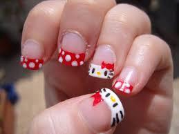Cute Hello Kitty Nail Art Designs And Stickers 2016 - Katty Nails ...