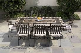 amazing of 8 seat outdoor dining set 8 seat dining room table sets