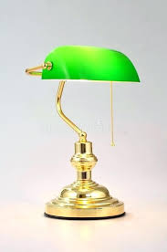 banker lamp banker desk lamp classic banker desk lamp with gold pull chain isolated on banker lamp
