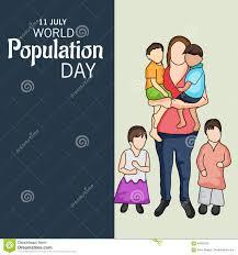 World Population Day Stock Illustration Illustration Of
