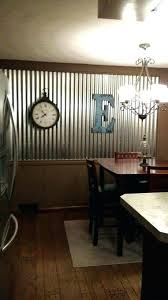 corrugated tin walls tin wall how to use corrugated tin metal sheets as an accent wall corrugated tin walls