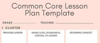 Download Lesson Plan Template 5 Downloadable Math Lesson Plan Templates For Small Group Logicroots