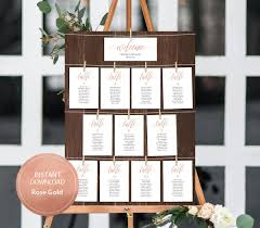 Aragon Seating Chart Editable Pdf Welcome Seating Chart Find Your Seat Wedding
