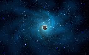 cool apple logos in space. 3 (12 awesome apple logo wallpapers) cool logos in space