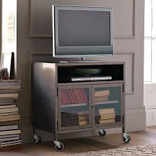 industrial steel furniture. furnituressmall industrial metal tv cart on wheels plus wood floor small steel furniture