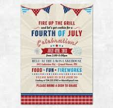 patriotic invitations templates printable rustic 4th of july party invitation templates vintage 4th