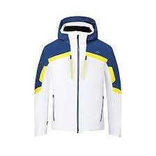 Kjus Men Speed Reader Jacket White Southern Blue