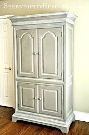 white tv armoire with doors entertainment center media cabinet