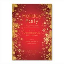 Holiday Templates Free Download Free Holiday Party Invitation