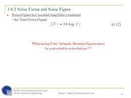 1 8 2 noise factor and noise figure