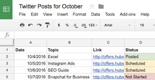 6 Social Media Calendars Tools Templates To Plan Your