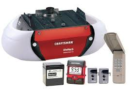 craftsman garage door opener reviews 1 2 hp chain drive garage door opener good