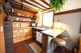 tiny house fridge. Tiny House Dishwasher The Kitchen Area Has Everything You Need Including A Sink Fridge And .