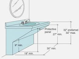9 ideas ada kitchen sink requirements you ll love kitchen design