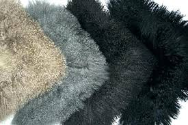 fur rug lamb faux sheep mongolian mainstays figural
