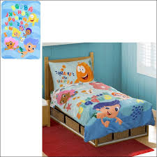 bubble guppies toddler bedding for boys