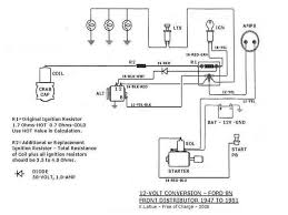 ford 9n 2n 8n discussion board 12 volt conversion i wired my tractor exactly the same as on this diagram exception of diode i used a dash light the resistance of 23 ohms