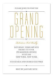 Grand Opening Invitations Grand Event