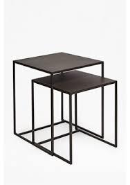 metal industrial furniture. Industrial Gunmetal Nest Of Tables Metal Furniture R