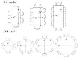 6 person round table 8 person table dimensions round org typical 6 person table dimensions