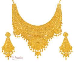 Gold Set Design 2019 In Pakistan Pakistani Gold Jewelry Gold Jewellery Design Gold Jewelry