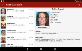 sex offenders search  android apps on google play