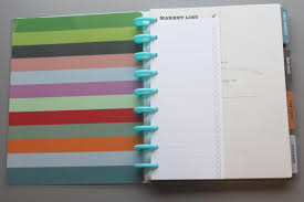 recipe book the book es with 10 of these little ping lists