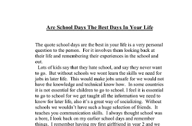essay my life the worst experience of my life essay