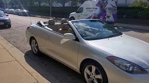 2006 Toyota Camry Solara | Convertible Top Working - YouTube