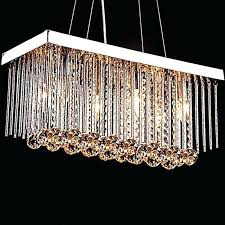 rectangular crystal chandelier with shade rectangular crystal chandelier