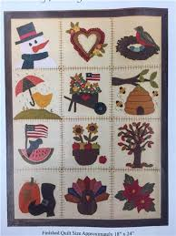 Block of the Months from Quilting Possibilities is a great way to ... & Tokens In Thyme Block of the Month Adamdwight.com