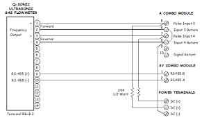 flow meter wiring diagram flow image wiring diagram wiring of instromet q sonic ultrasonic flowmeter on flow meter wiring diagram